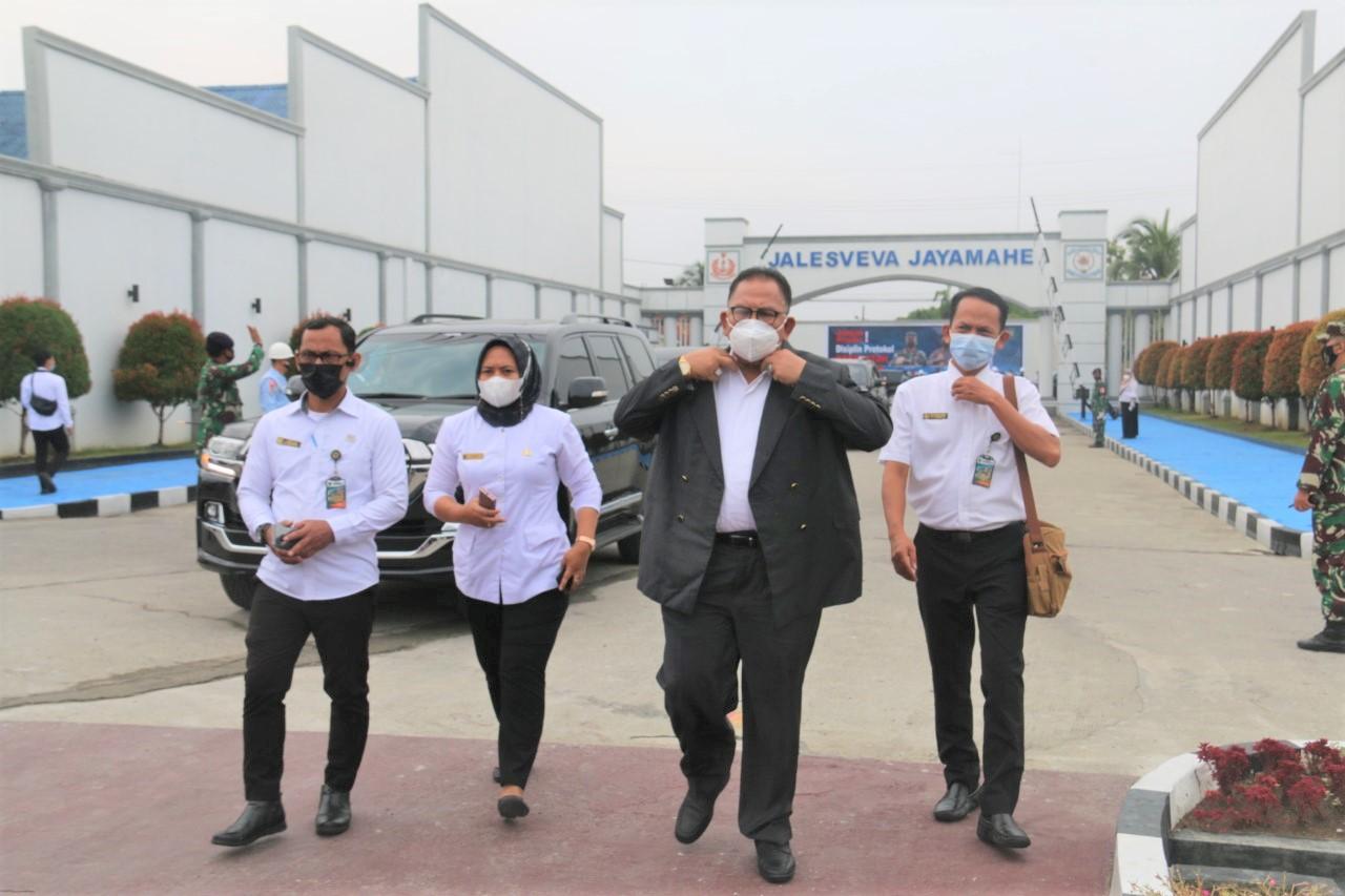 Ketua DPRD Provinsi Sumatera Utara Drs. Baskami Ginting Menghadiri Upacara Pembukaan Latsitarda Nusantara XLI Tahun 2021