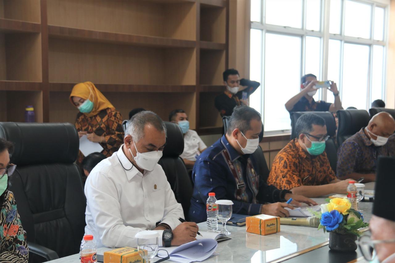 H. Harun Mustafa Nasution (Wakil Ketua DPRD-SU) menghadiri Rapat Dengar Pendapat dengan Badan Akuntabilitas Publik (BAP) DPD RI